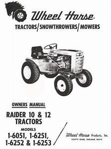 Tractor 1970 Raider 10  U0026 12 D U0026a Om Wiring Sn Pdf