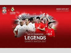 Reds legends to face Real Madrid at Anfield Liverpool FC