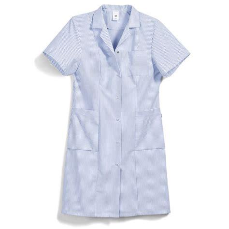 blouse de cuisine femme blouse é bleu blanc femme manches courtes entretien facile