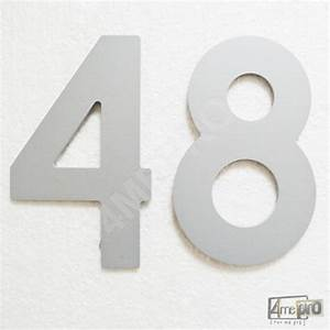Plaque Numero Maison Design : plaque num ro de maison 13 cm 4mepro ~ Melissatoandfro.com Idées de Décoration