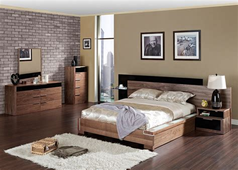 Best Modern Wood Bedroom Furniture Sets With Extra Storage For Contemporary Bedroom Interior