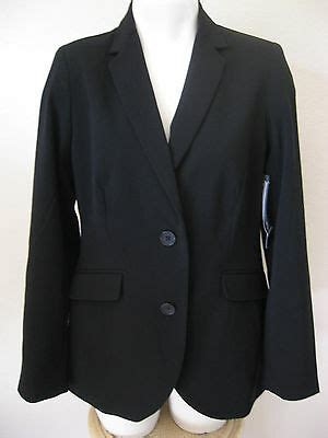 womens black blazer    george career versatile padded