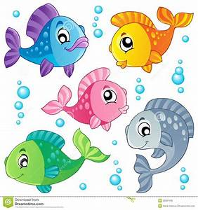 Cute Fish Clipart Various cute fishes collection | Theme ...