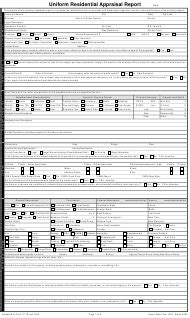 appraisal forms customize  print