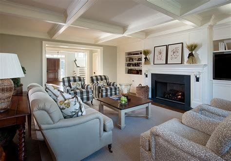Square Living Room : Private Residence, Newtown Square, Pa
