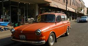 Old Parked Cars   1970 Volkswagen Squareback Wagon