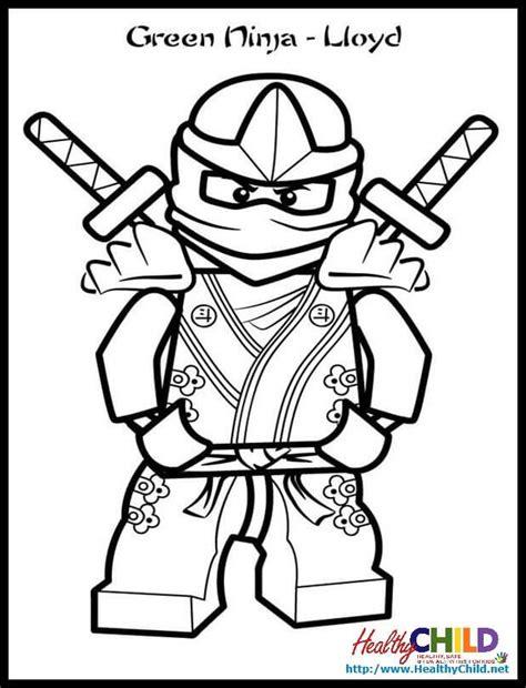 ninjago lloyd zx lego ninjago coloring pageslego ninjago
