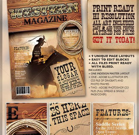 indesign psd magazine cover layout templates web