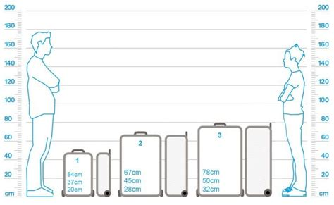 standard cabin bag size size guide tripp ltd