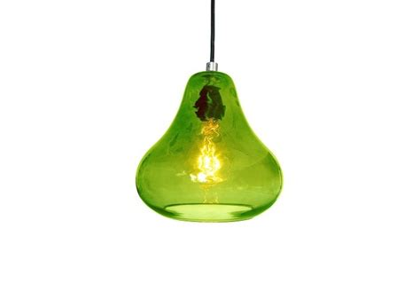luxello happy pendant light lime green