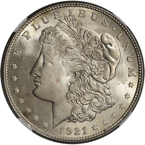 1921 Us Morgan Silver Dollar $1  Ngc Ms65 Ebay