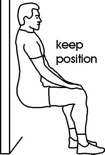 exercice de la chaise cross tips 187 fitness test