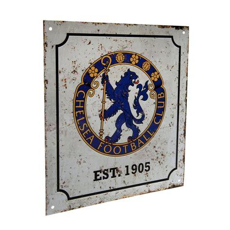 Southwest of central london, chelsea is a lovely neighborhood along the river thames. Sklep Chelsea Londyn - znak metalowy retro! - 7394293241 - oficjalne archiwum allegro
