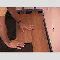 How To Install Snaptogether Laminate Flooring  Howtos Diy
