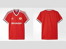 adidas Originals Retro Manchester United Shirt Hand of