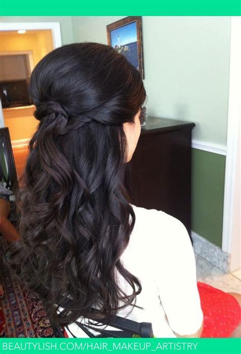 beachy wavesby calista brides hair makeup
