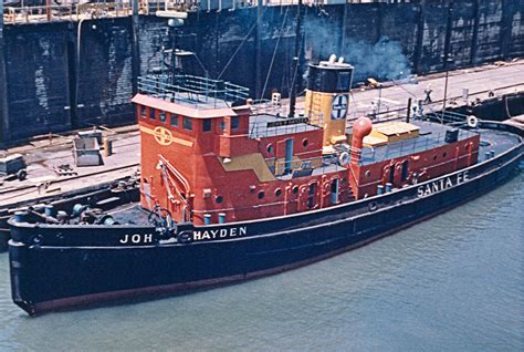 Tugboat Terms by Opinions On Santa Fe Railroad Tugboats