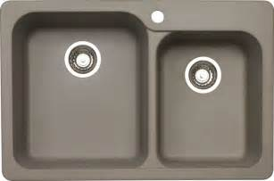 Home Depot Sinks Canada by Blanco Silgranit Natural Granite Composite Topmount