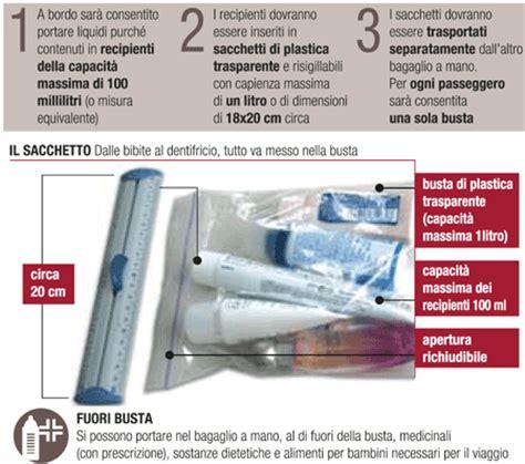 si possono portare liquidi in aereo connect liverpool cosa mettere in valigia prima di