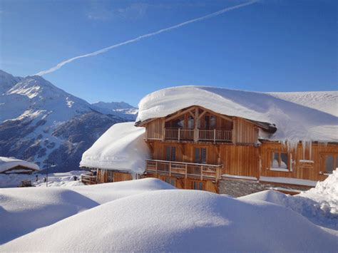 catered ski chalet in la rosi 232 re alps chalet l accroche coeur