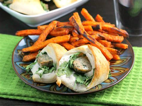 sausage rolls  arugula  fun crescent roll recipe
