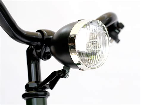 retro led bicycle light beater bikes