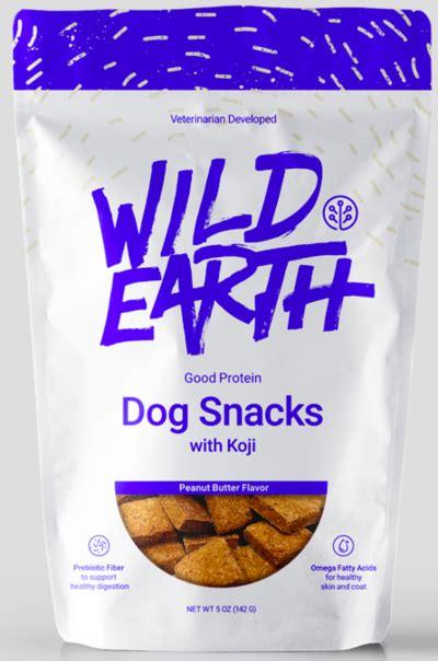 wild earth good protein dog snacks  koji