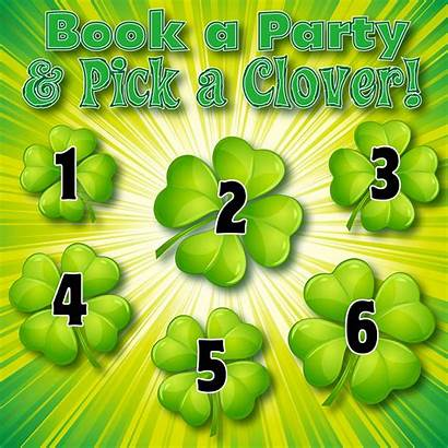 Party Sales Pick Games Number Prize Clover