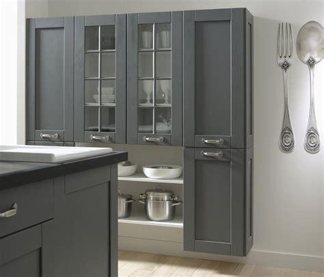 cuisine grise et bois une cuisine en bois grise leroy merlin