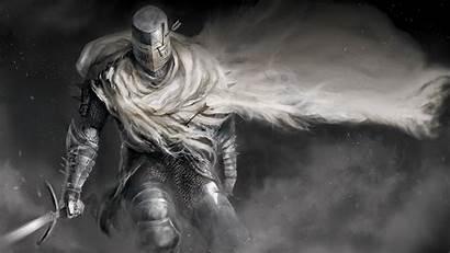 Knight Souls Dark Fantasy Armor Cape Heide