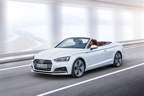 New Audi A5 Cabriolet 2017 Official Pictures Auto Express