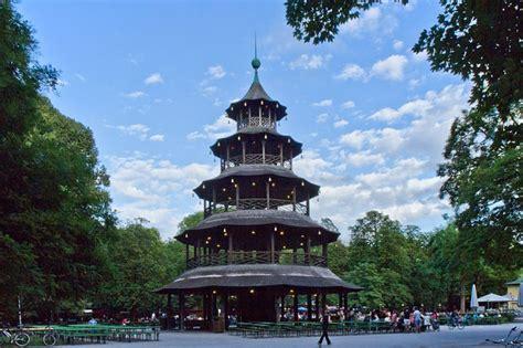 englischer garten in münchen adresse monuments of munich chinesischer turm tower