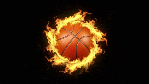 Animated Basketball Wallpapers - basketball flames wallpaper www imgkid the image