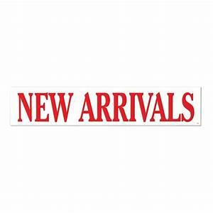 "Poster ""NEW ARRIVALS"" Horizontal 1000 W x 200mm H | Shop ..."
