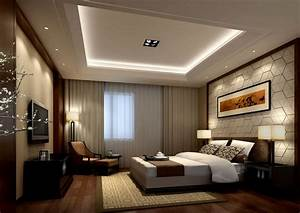 Bedroom: Cove Lighting And Curtain Ideas With Bedroom Tv ...