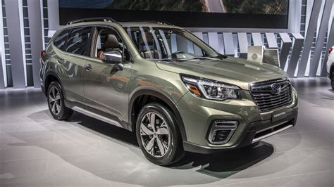 subaru forester 2019 news 2019 subaru forester new platform lots of changes but