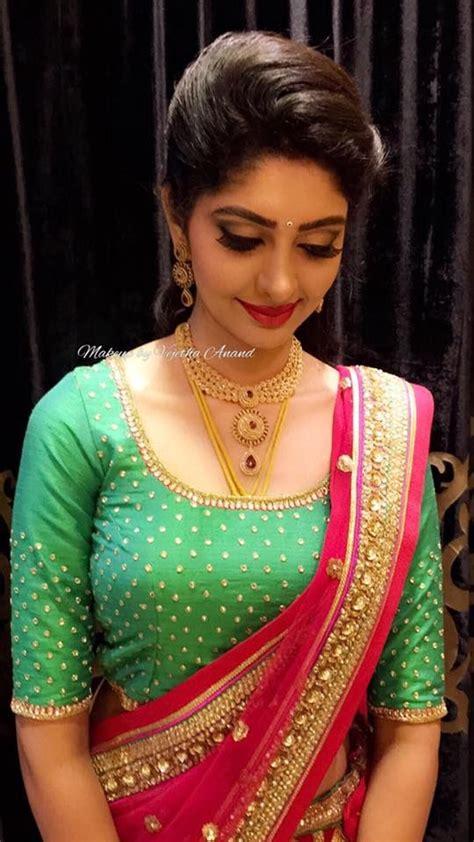 bridal blouse designs stitching  chennai  wedding