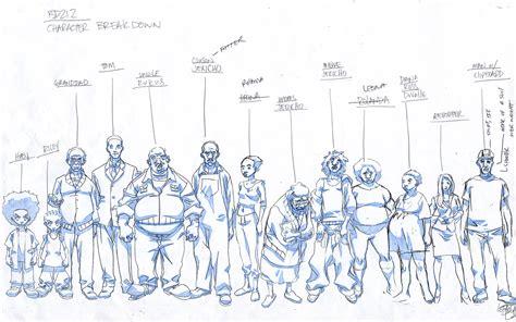 Boondocks Production Art The Katrinians Art Of Lesean