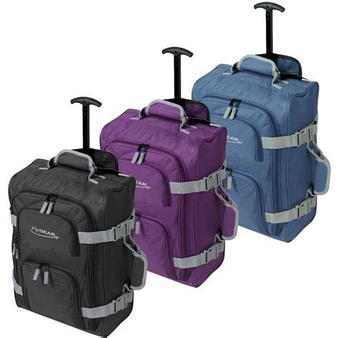 4 wheeled cabin luggage lightweight cabin wheeled travel luggage trolley