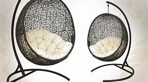 Fauteuil En Forme D Oeuf : fauteuil balancelle en forme d 39 uf ~ Teatrodelosmanantiales.com Idées de Décoration