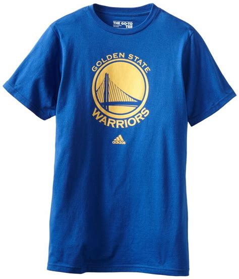 golden state warriors adidas primary logo t shirt royal free shipping ebay