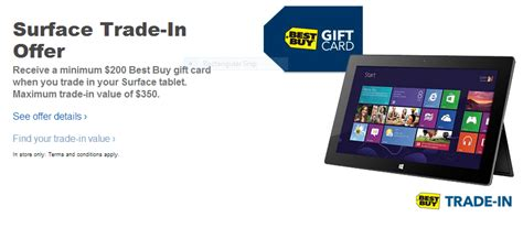 As Surface 2 Launch Looms, Best Buy Begins Offering Trade