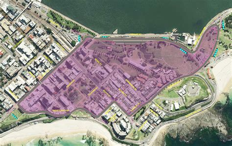 newcastle  street circuit unveiled touringcartimes