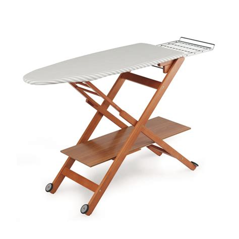 Ironing Boards - Deluxe Wooden, Mobile Ironing Boards ...