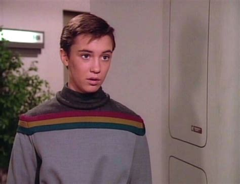 wesley crusher sweater what trek isms would you like the series to avoid