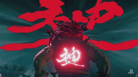 Street Fighter V Akuma Gameplay Trailer Playstation