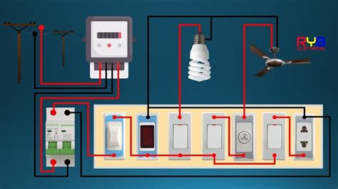 Electrical Switch Board Wiring Diagram Diy House