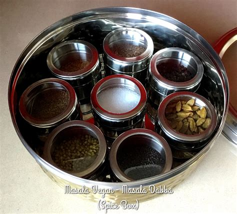 Spice Rack In India by Vegan 2017 Spice Rack Masala Dabba Masala Vegan