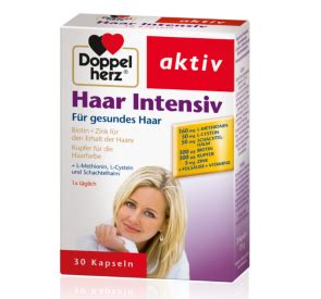 Doppelherz Haar Intensiv Kapseln Test und Erfahrungen