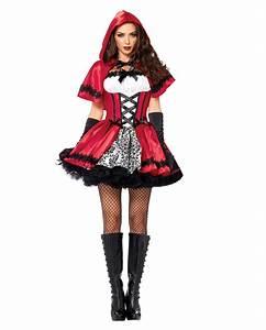 Warmes Halloween Kostüm : gothic rotk ppchen kost m f r halloween horror ~ Lizthompson.info Haus und Dekorationen